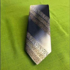 Blue/Tan Tie